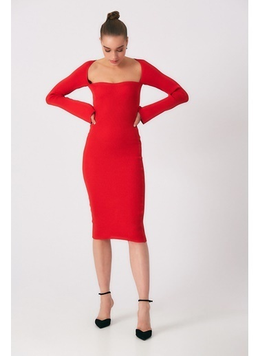 Robin Elbise Kırmızı